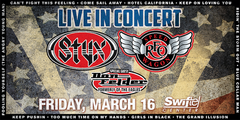 reo speedwagon uk tour dates Three great names in american rock history will come together for the united we rock tour from june to august this year styx, reo speedwagon and former eagles guitarist don felder will play a 26-date itinerary that starts at the sunlight supply amphitheatre in ridgfield, washington on 20 june and concludes at the pnc.