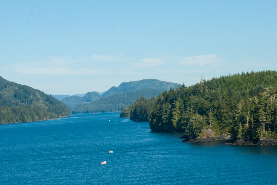 The Inside Passage Cruise: We left Ketchikan 5:30 pm Alaska time on ...
