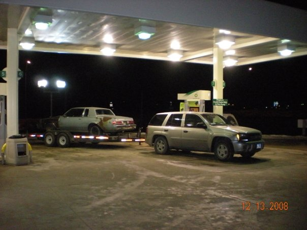 Towing a car trailer and car - Chevy TrailBlazer ...